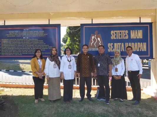 Wakil Ketua Komisi Informasi Pusat Mengunjungi UK/UPT Kementan - BBIB Singosari