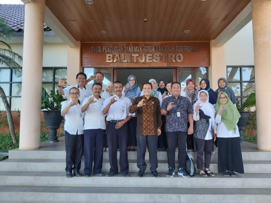 Wakil Ketua Komisi Informasi Pusat Mengunjungi Balitjestro