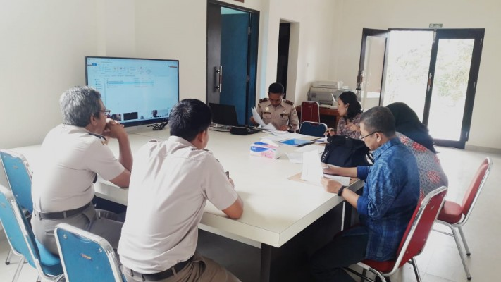 Kunjungan Lapangan dalam rangka Pemeringkatan Keterbukaan Informasi Publik lingkup Kementan ke (BKP) Kelas II Kendari